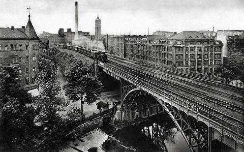 Postkarte Viadukt
