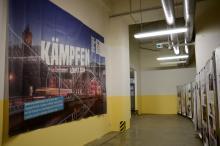 """""""Kämpfen lohnt sich"""" in der Ausstellung zum Bahnbogen"""